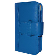 Piel Frama 526 Blue Leather Wallet for Apple iPhone 4 / 4S