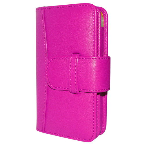 Piel Frama 526 Pink Leather Wallet for Apple iPhone 4 / 4S