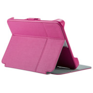 Speck - Stylefolio Flex Case Fits Most 9 To 10.5 Inch Tablets -  Fuchsia Nickel Gray and Fuchsia
