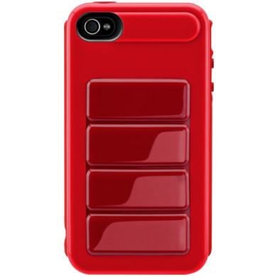SwitchEasy Red Odyssey Case for Apple iPhone 4 / 4S - 125170