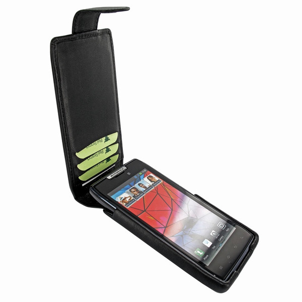 Piel Frama 562 iMagnum Black Leather Case for Motorola Droid RAZR / RAZR MAXX
