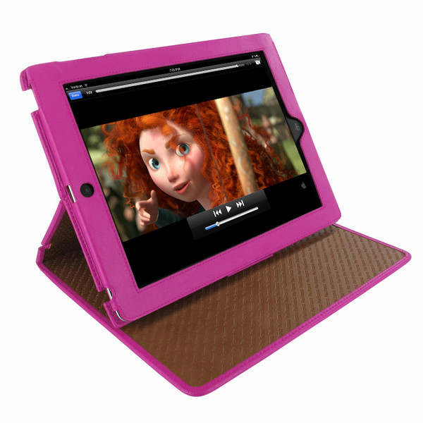 Piel Frama 532 Pink Cinema Magnetic Leather Case for Apple iPad 2 / 3 / 4