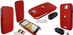 Piel Frama 580 iMagnum Red Leather Case for HTC One X