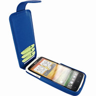 Piel Frama 584 Blue Leather Hybrid Case for HTC One X