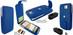 Piel Frama 584 Blue Leather Hybrid Case for HTC One X