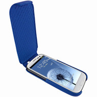 Piel Frama 585 iMagnum Blue Leather Case for Samsung Galaxy S III