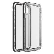 Lifeproof - Next Case for Apple iPhone Xs Max  - Black Crystal