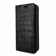 Piel Frama 808 Black Crocodile FramaSlimCards Leather Case for Apple iPhone Xs Max