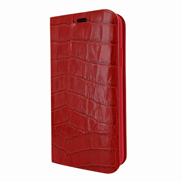 Piel Frama 808 Red Crocodile FramaSlimCards Leather Case for Apple iPhone Xs Max