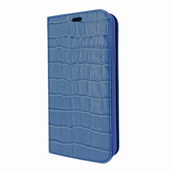 Piel Frama 808 Blue Crocodile FramaSlimCards Leather Case for Apple iPhone Xs Max