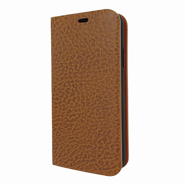 Piel Frama 808 Tan Karabu FramaSlimCards Leather Case for Apple iPhone Xs Max