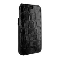 Piel Frama 809 Black Crocodile iMagnum Leather Case for Apple iPhone Xs Max