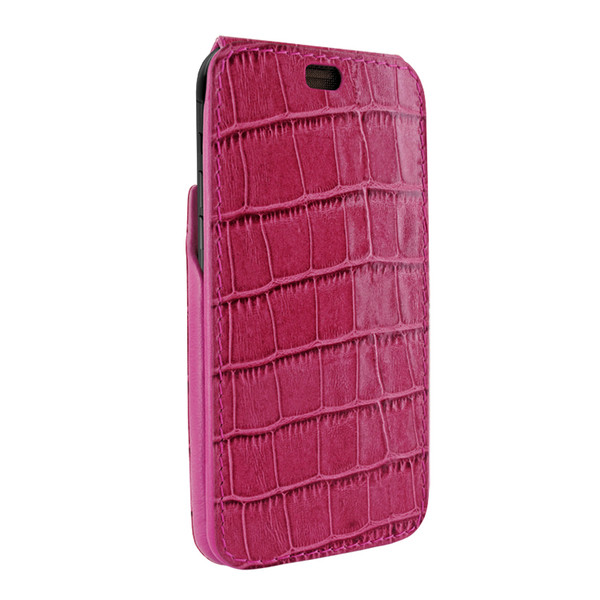 Piel Frama 809 Pink Crocodile iMagnum Leather Case for Apple iPhone Xs Max