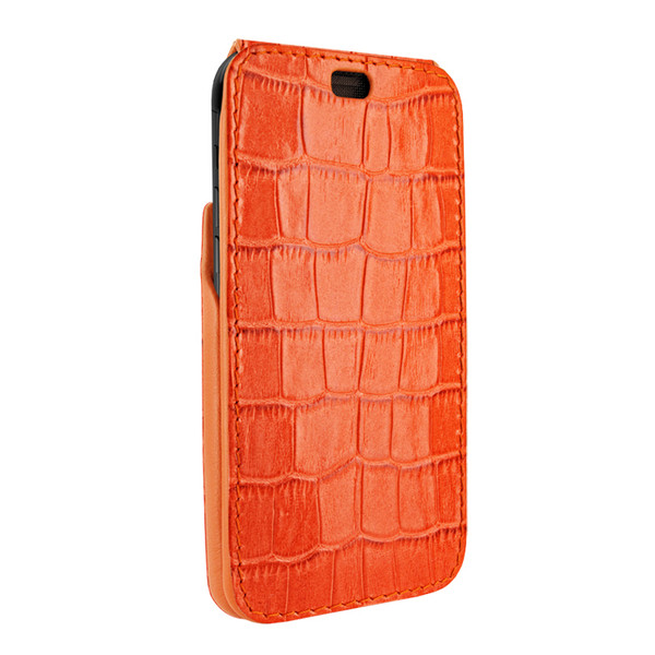 Piel Frama 809 Orange Crocodile iMagnum Leather Case for Apple iPhone Xs Max