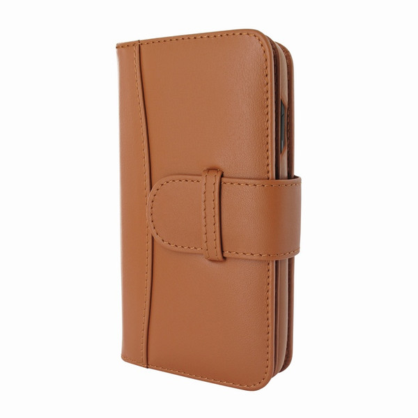 Piel Frama 810 Tan WalletMagnum Leather Case for Apple iPhone Xs Max