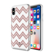 Kate Spade - Hardshell Case for Apple iPhone Xs  /  X - Chevron