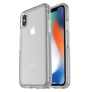 Otterbox - Symmetry Clear Case for Apple iPhone X - Clear