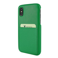 Piel Frama 812 Green FramaSlimGrip Leather Case for Apple iPhone Xs Max