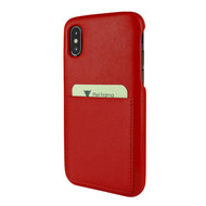 Piel Frama 812 Red FramaSlimGrip Leather Case for Apple iPhone Xs Max