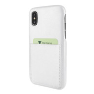 Piel Frama 812 White FramaSlimGrip Leather Case for Apple iPhone Xs Max
