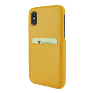 Piel Frama 812 Yellow FramaSlimGrip Leather Case for Apple iPhone Xs Max