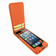 Piel Frama 595 Orange Magnetic Leather Case for Apple iPhone 5 / 5S / SE