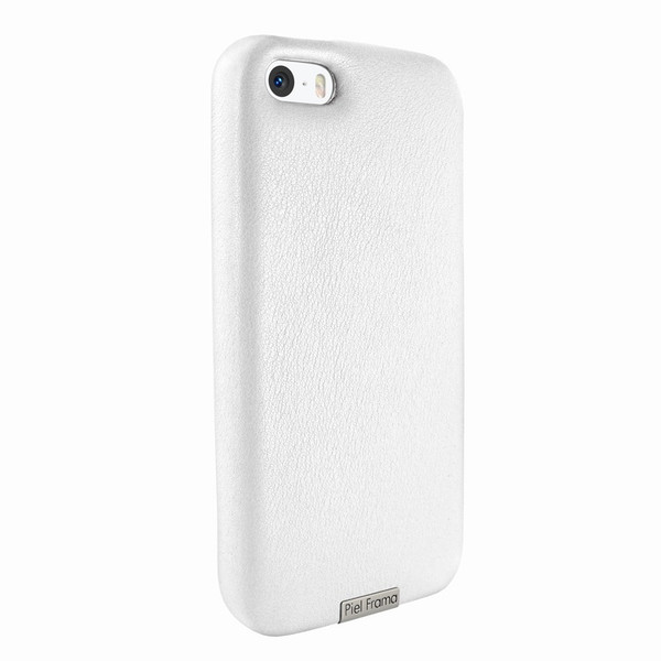 Piel Frama 603 White FramaGrip Leather Case for Apple iPhone 5 / 5S / SE