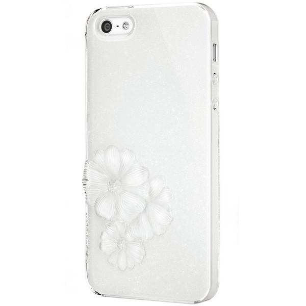 SwitchEasy Sparkling White Dahlia Light Case for Apple iPhone 5