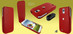Piel Frama 618 iMagnum Red Leather Case for Samsung Galaxy S4