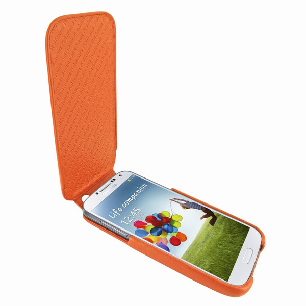 Piel Frama 618 iMagnum Orange Leather Case for Samsung Galaxy S4