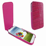 Piel Frama 618 iMagnum Pink Crocodile Leather Case for Samsung Galaxy S4