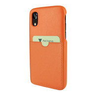 Piel Frama 814 Orange FramaSlimGrip Leather Case for Apple iPhone Xr