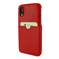Piel Frama 814 Red FramaSlimGrip Leather Case for Apple iPhone Xr