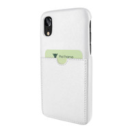 Piel Frama 814 White FramaSlimGrip Leather Case for Apple iPhone Xr