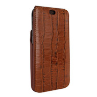Piel Frama 815 Brown Crocodile iMagnum Leather Case for Apple iPhone Xr