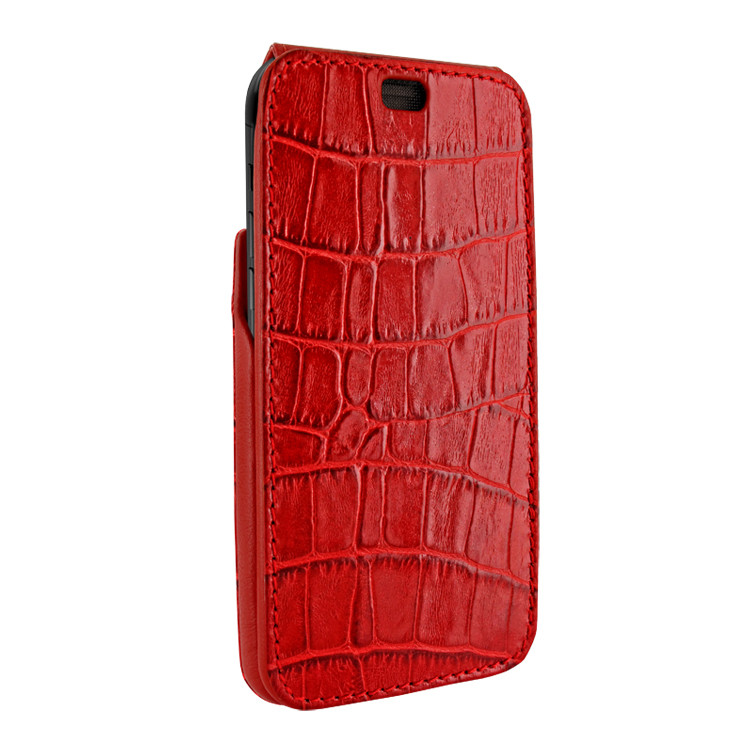 the latest 8cb6c 89650 Piel Frama 815 Red Crocodile iMagnum Leather Case for Apple iPhone Xr