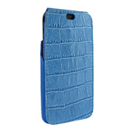 Piel Frama 815 Blue Crocodile iMagnum Leather Case for Apple iPhone Xr