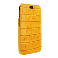 Piel Frama 815 Yellow Crocodile iMagnum Leather Case for Apple iPhone Xr