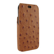 Piel Frama 815 Tan Ostrich iMagnum Leather Case for Apple iPhone Xr