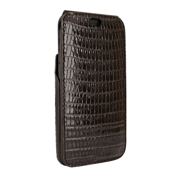 Piel Frama 815 Brown Lizard iMagnum Leather Case for Apple iPhone Xr