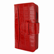 Piel Frama 817 Red Crocodile WalletMagnum Leather Case for Apple iPhone Xr