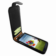 Piel Frama 620 Black Magnetic Leather Case for Samsung Galaxy S4
