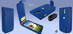 Piel Frama 620 Blue Magnetic Leather Case for Samsung Galaxy S4