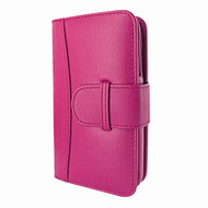 Piel Frama 622 Pink Leather Wallet for Samsung Galaxy S4