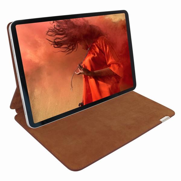 "Piel Frama 819 Brown Crocodile FramaSlim Leather Case for Apple iPad Pro 12.9"" (2018)"