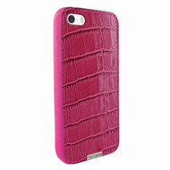Piel Frama 603 Pink Crocodile FramaGrip Leather Case for Apple iPhone 5 / 5S / SE