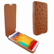 Piel Frama 641 iMagnum Tan Ostrich Leather Case for Samsung Galaxy Note 3