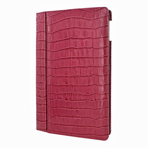 Piel Frama 642 Pink Crocodile Magnetic Leather Case for Apple iPad Air / iPad 2017 Model