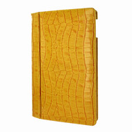 Piel Frama 642 Yellow Crocodile Magnetic Leather Case for Apple iPad Air / iPad 2017 Model
