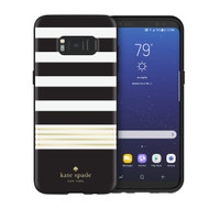 Kate Spade - Hardshell Case for Samsung Galaxy S8 - Stripe 2
